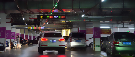 Camera Series Indoor Parking Guidance System Ake