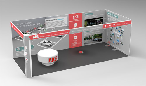 AKE's Booth in intertraffic fair