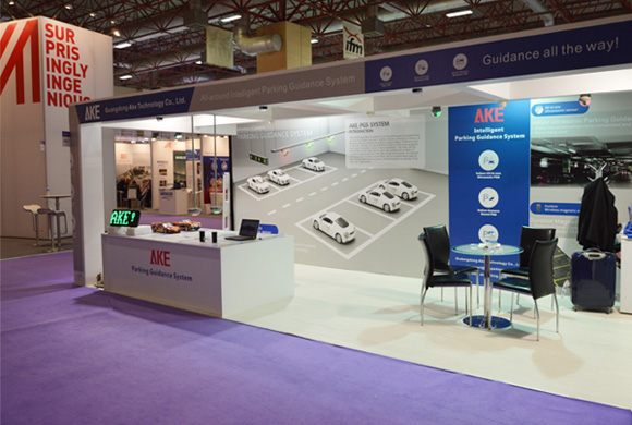 AKE in Istanbul Intertraffic Exhibition-2