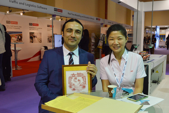 AKE in Istanbul Intertraffic Exhibition-5