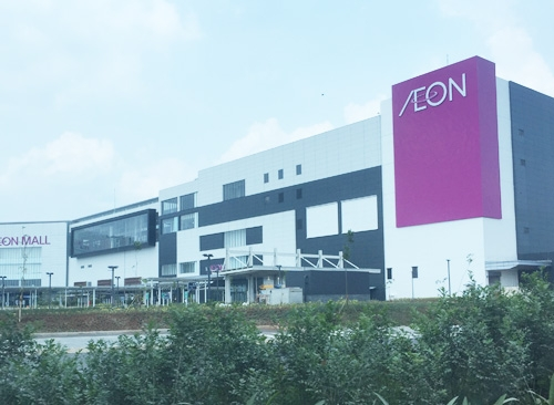 AEON MALL car parking